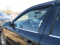 Хромированные молдинги на окна Skoda Octavia A4 Tour