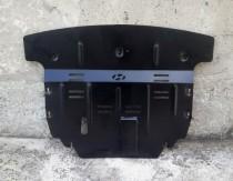 Защита картера Хендай Санта Фе 3 (защита двигателя Hyundai Santa Fe 3 DM)
