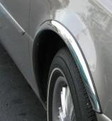 Omsa Line Хромированные накладки на колесные арки Skoda Fabia 2