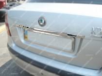 Хромированная накладка над номером Skoda Octavia A5