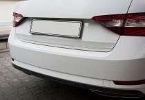 Хромированная накладка на нижнюю кромку крышки багажника Skoda Superb 3