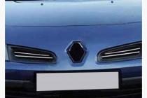 Хром накладки на решетку Renault Clio 2 / Symbol