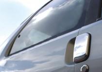 Хромированные накладки на дверные ручки Peugeot 106