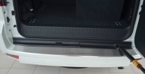 защитная накладка бампера Toyota Prado 150