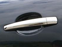 Хромированные накладки на дверные ручки Peugeot 4007