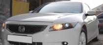 Заказать реснички на передние фары Honda Accord USA