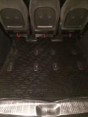 Коврик в багажник Фольксваген Шаран 1 поколения