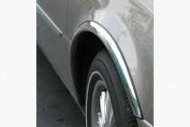 Хром накладки на арки Renault Kangoo 2