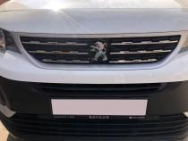 Хромированные накладки на решетку радиатора Peugeot Rifter