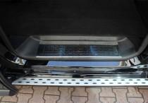 Хромированные накладки на пороги Peugeot Traveller