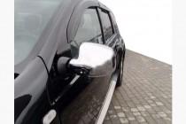 Хром накладки на зеркала Renault Logan MCV 2008-2013