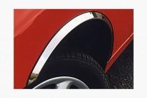 Хром накладки на арки Renault Megane 2