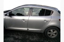 Omsa Line Хром верхняя окантовка стекол Renault Megane 3 HB