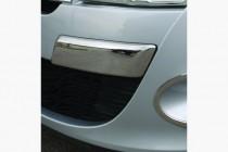 Omsa Line Хром углы на передний бампер Renault Megane 3