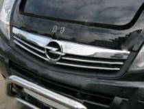 Omsa Line Хром накладки решетки радиатора Opel Vivaro