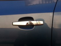 Хром накладки ручек дверей Opel Zafira B узкие