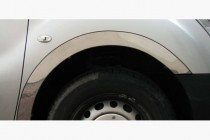 Хром накладки на колесные арки Renault Scenic 2