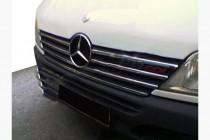 Omsa Line Хром накладки на кант решетки радиатора Mercedes Sprinter W901 2000-2002гг