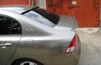 Купить спойлер на кромку багажника Honda Civic 4d