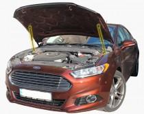 Газовый упор капота Ford Fusion с 2012- года комплект 2шт