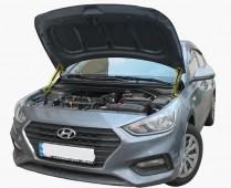 Газовый упор капота Hyundai Accent 5 комплект 2шт