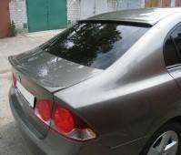 Тюнинг спойлер на стекло Хонда Цивик 4д