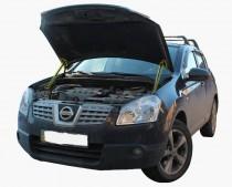 EURO UPOR Газовый упор капота Nissan Qashqai 1 J10 комплект 2шт