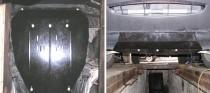 Защита двигателя Хонда Пилот 2 (защита картера Honda Pilot 2)