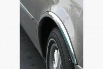 Omsa Line Хром накладки на арки Audi A6 C7