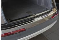 Хром накладка на задний бампер Audi Q7 4M