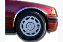 Omsa Line Хром накладки на колесные арки BMW 3 E36