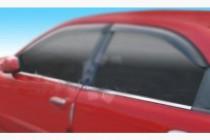 Хром нижние молдинги стекол Chevrolet Lanos