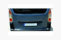 Хром накладка на задний бампер Citroen Berlingo 2