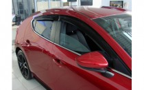 Дефлекторы на окна Mazda 3 BP хэтчбек