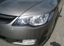 Реснички на Honda Accord Civic 4d по верхней границе