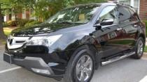 Пороги трубами Acura MDX 2 комплект 2шт