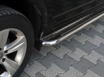 Пороги труба с листом Chrysler Voyager