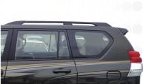 Рейлинги на крышу Toyota Prado 150 черные