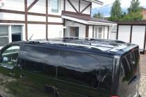 Рейлинги на Peugeot Traveller серые