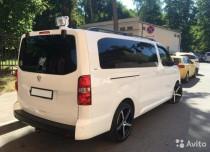 Установка рейлингов на Peugeot Traveller фото