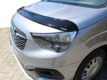 Дефлектор капота Opel Combo E черный