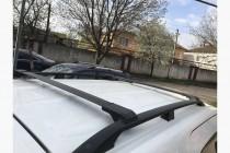 Фирменные рейлинги на крышу Ниссан Мурано Z50 фото