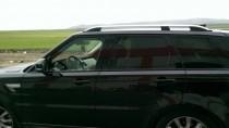 Алюминиевые дуги для Range Rover Sport 1 серые