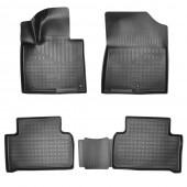 Резиновые коврики Kia Sorento 4 комплект