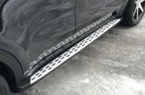 Подножки на Киа Спортейдж 4 оригинальный комплект