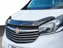 Дефлектор капота Fiat Talento черный