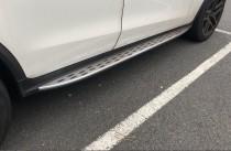 Пороги на Mercedes GLC C253 coupe оригинальные