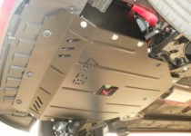 Защита двигателя Киа Пиканто 2 (защита картера Kia Picanto 2)