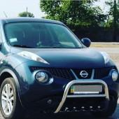 Кенгурятник Nissan Juke с грилем