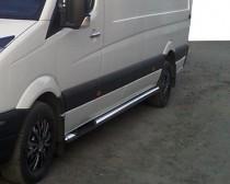Can Otomotiv Пороги трубами на Nissan Interstar 1 поколения